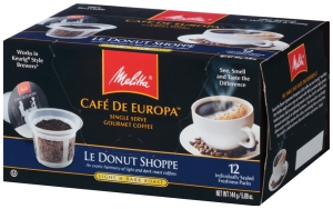 Melitta Cafe de Europa single serve coffee_Le Donut Shoppe